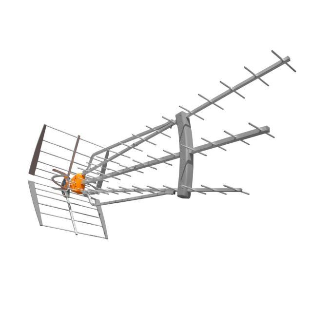 mejores antenas TDT ANTENA TDT-UHF DAT HD BOSS 75LR LTE 149740 DE TELEVES