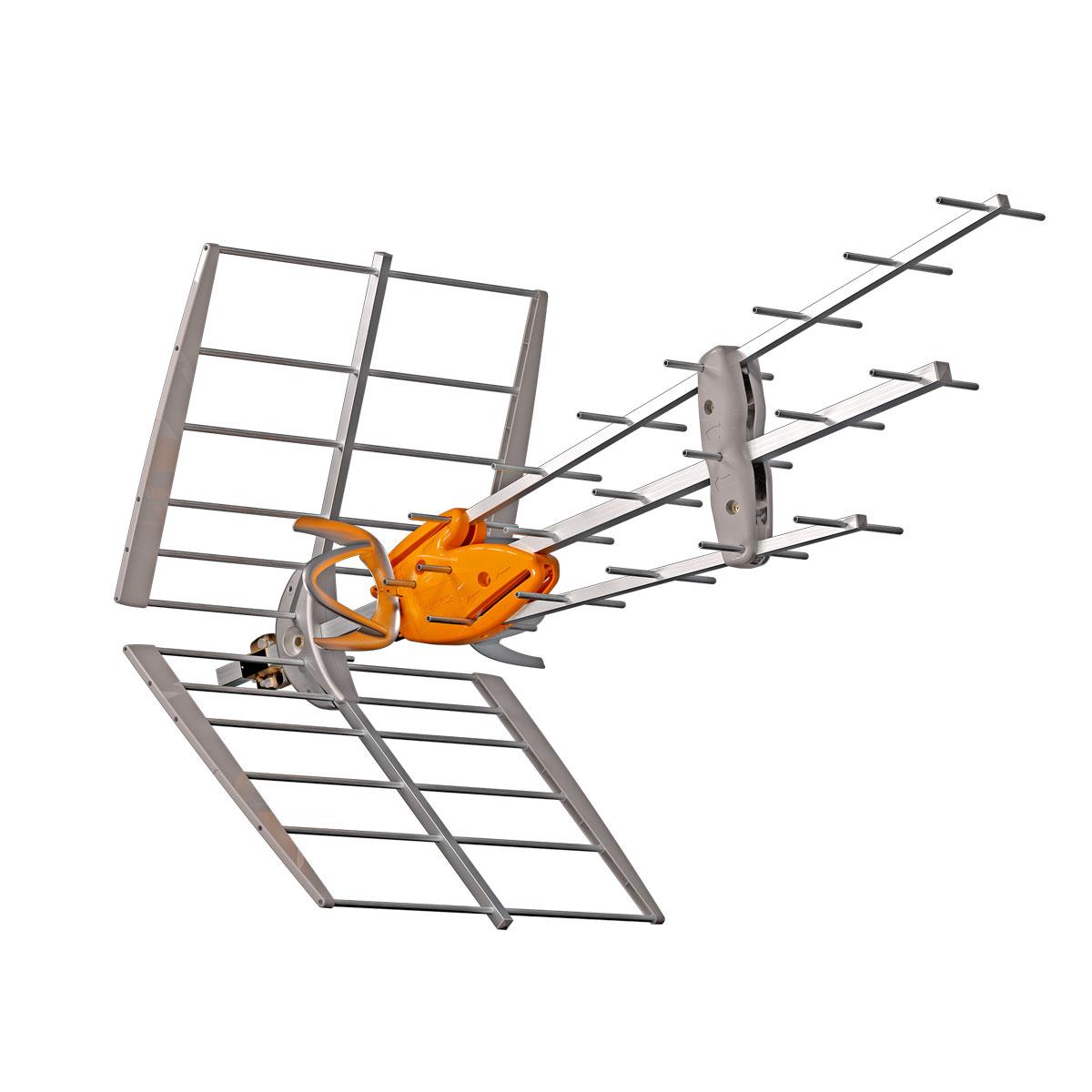 ANTENA DAT BOSS UHF G45 con directores asimétricos