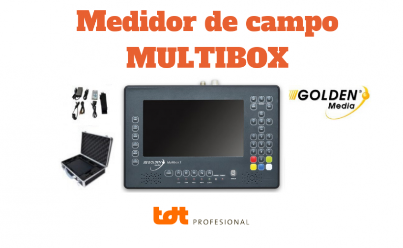 MULTIBOX MEDIDOR DE CAMPO