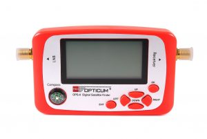 LOCALIZADOR DE SATELITE OPTICUM OPS-4 CON PANTALLA LCD
