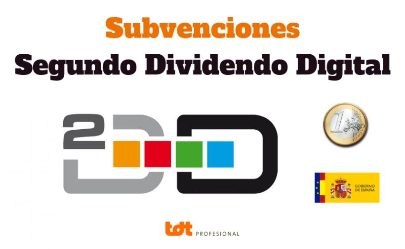 Subvenciones del segundo dividendo digital TDTprofesional
