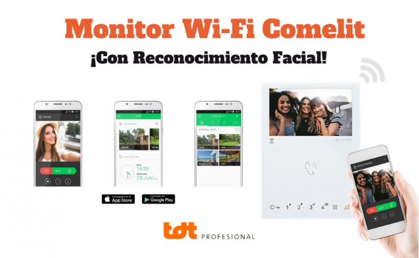 Monitor 6471 mini WiFi de Comelit con