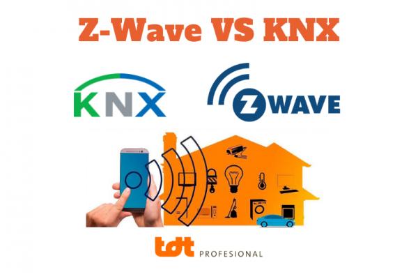 Diferencia entre z wave y knx