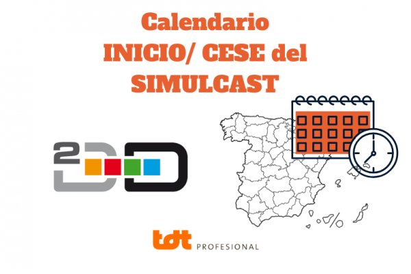 Calendario Simulcast 2020