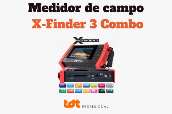 Medidor de Campo Amiko X Finder 3 Combo