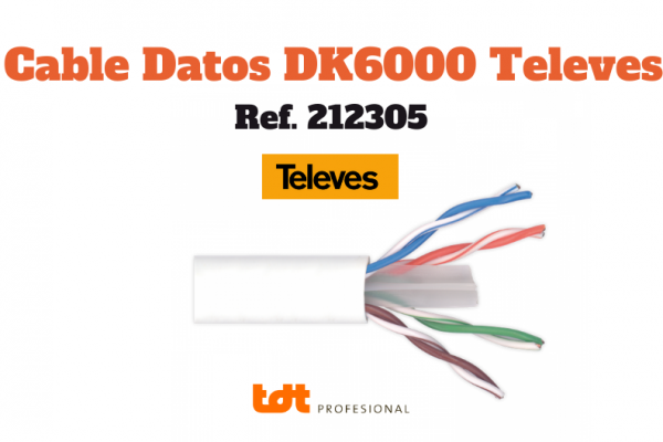Cable UTP Cat6 Dk6000