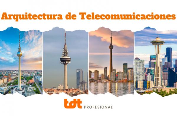 Torre de telecomunicaciones y arquitectura de las ciudades