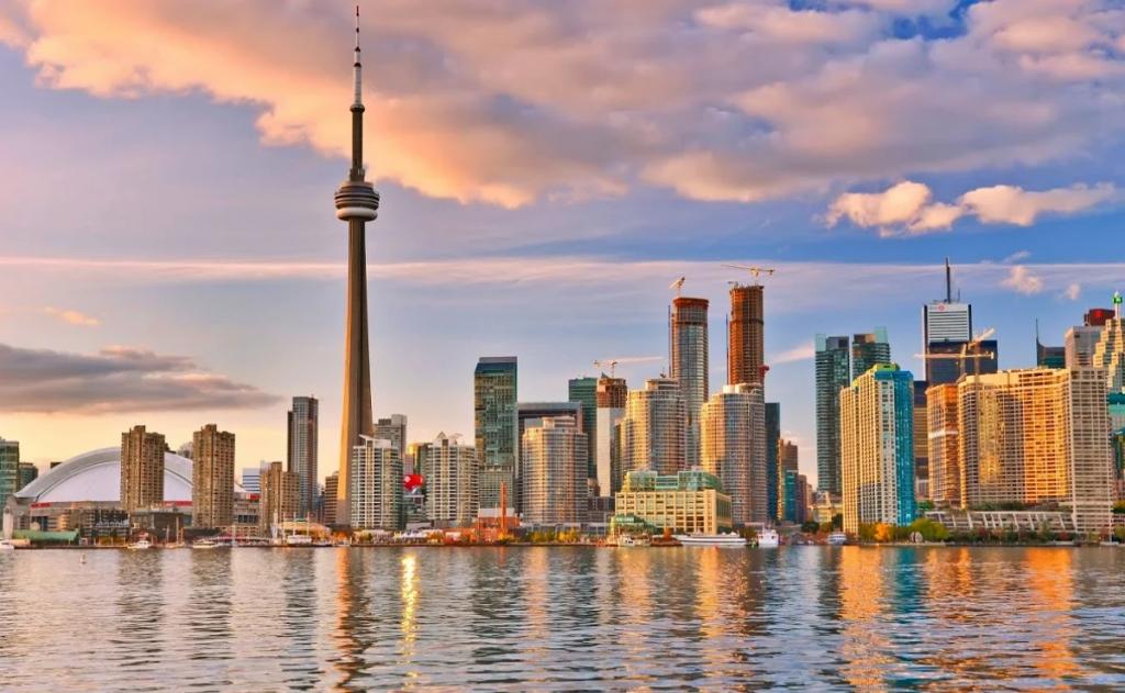 Skyline de Toronto con CN Tower