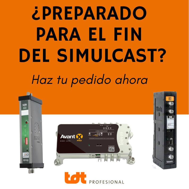 Material Telecomunicaciones para fin Dividendo Digital y Simulcast