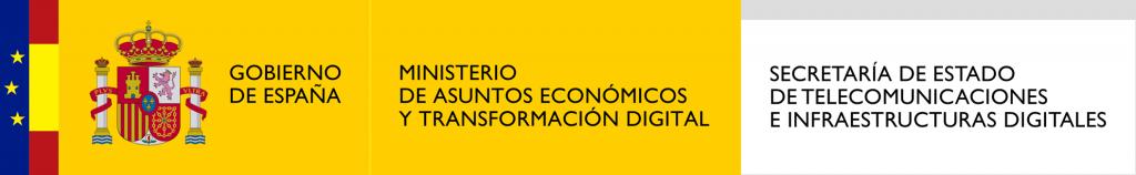 Logo Ministerio de Asuntos Económicos y transformación Digital
