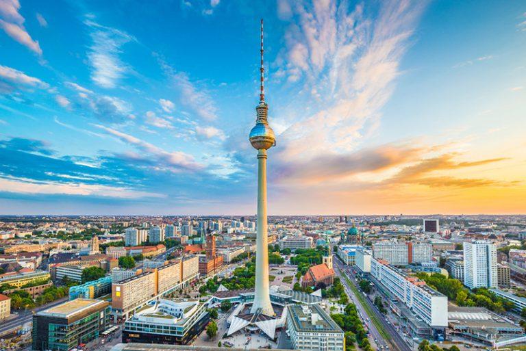 Berlín y su torre de telecomunicaciones