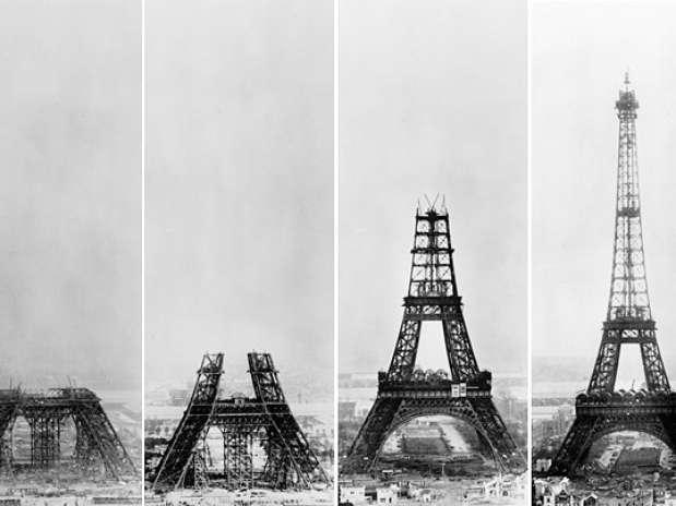 Construcción de Torre Eiffel