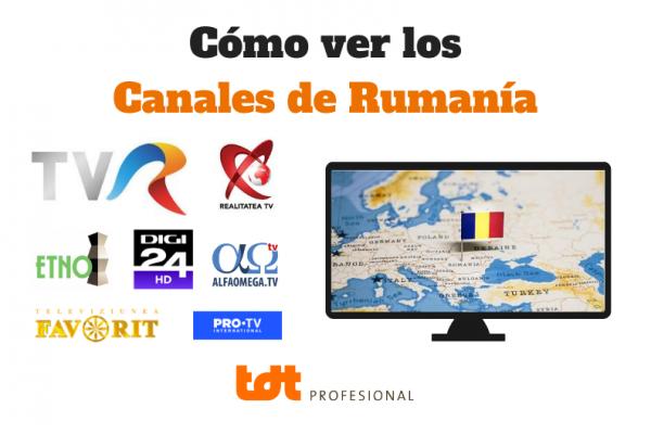 como ver canales en rumania