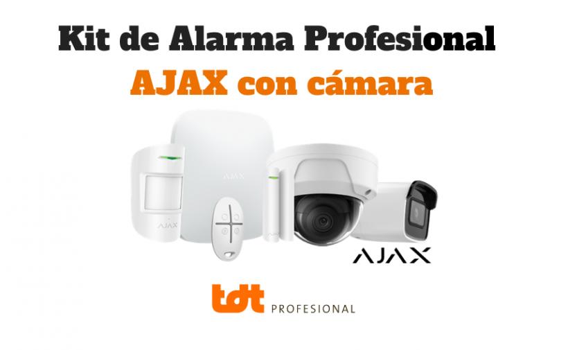 Kit de Alarma Profesional Ajax con cámara