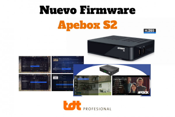Nuevo firmware apebox s2