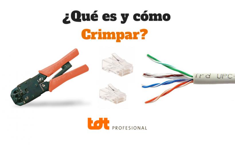 Qué es y cómo crimpar un cable