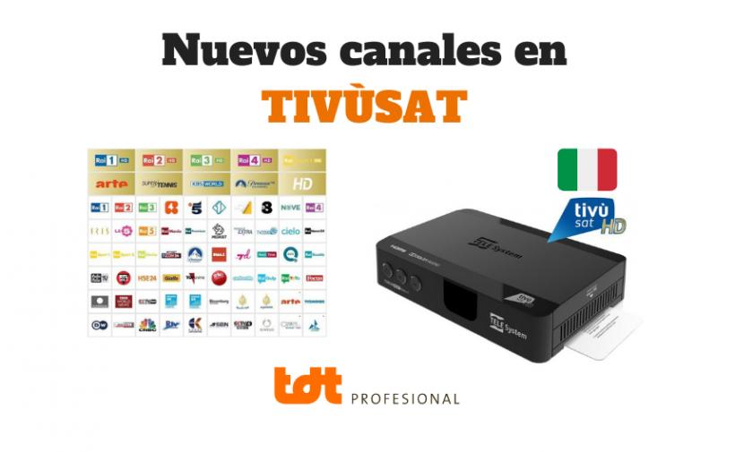 Nuevos canales para Tivusat