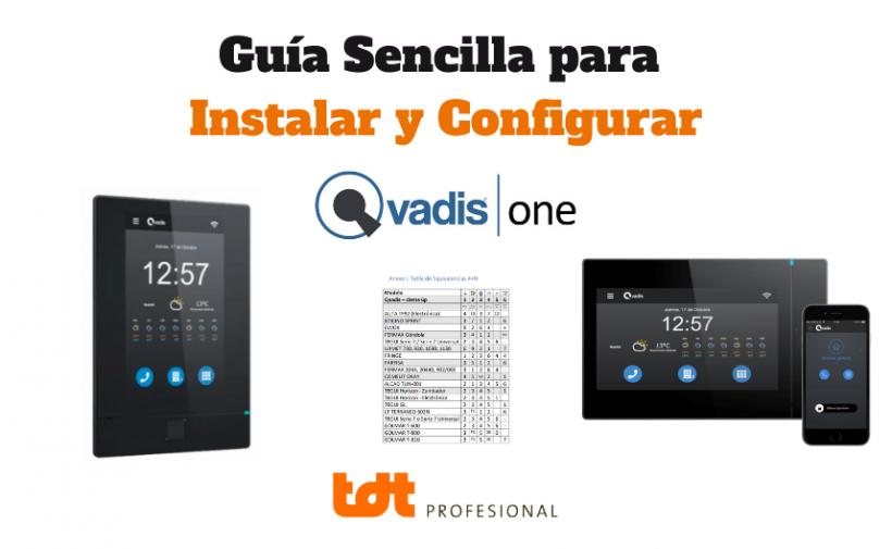 Guía para Instalar y Configurar Qvadis ONE