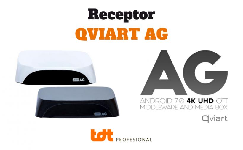 Ver características Blog TDTprofesional Receptor Qviart AG