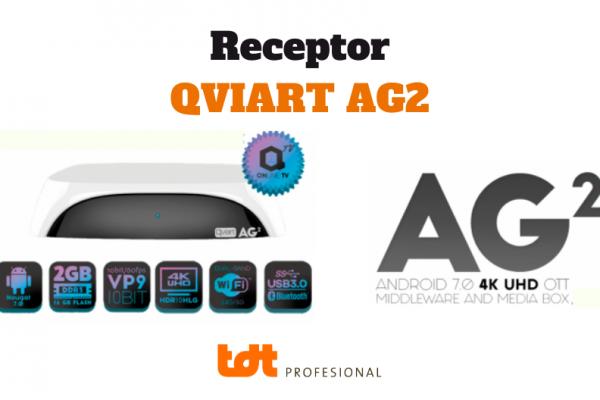 Receptor Android Qviart AG2. Blog de TDTprofesional