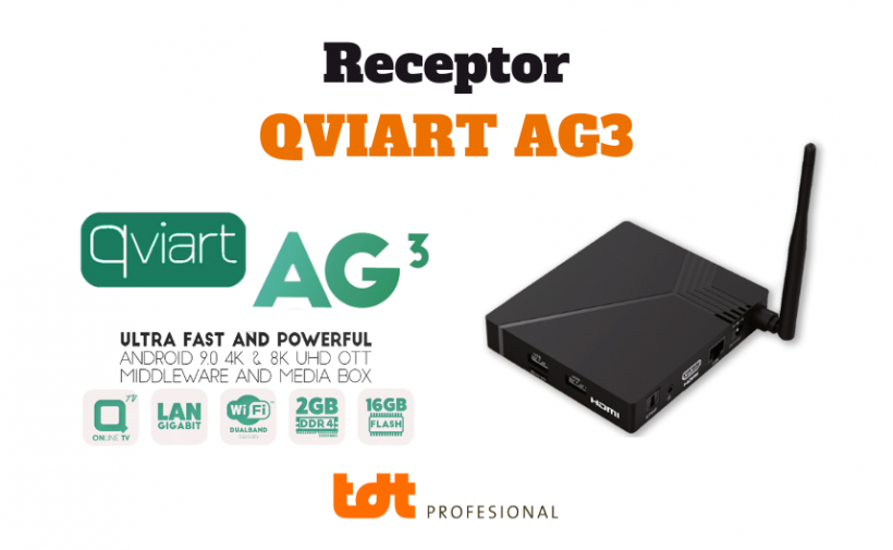 Receptor Qviart AG3 Blog de TDTprofesional