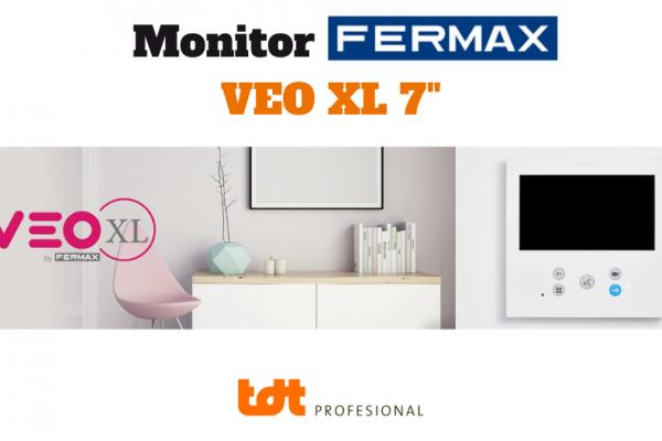 Monitor VEO XL 7 pulgadas de Fermax. Blog de TDTprofesional