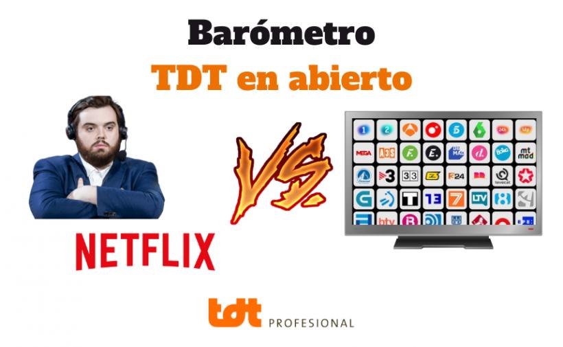 Pese a Ibai y Netflix, gana la TDT en abierto. Blog de TDTprofesional