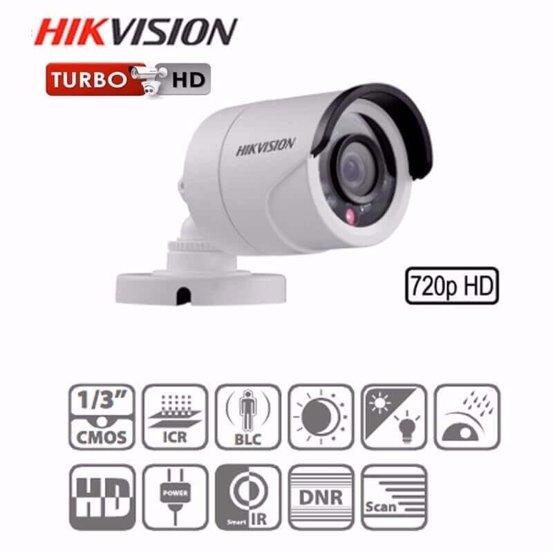 Cámara de CCTV con protocolo Digital HD-TVI de Hikvision