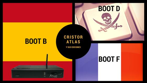 Cristor Atlas y sus ediciones ¿Boot B, Boot D o Boot F?