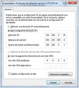 Configuración de IP para uso de TP-Link CPE510