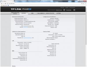 Menú TP-Link CPE510