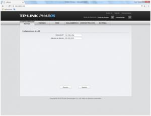 Configuración TP-Link CPE510