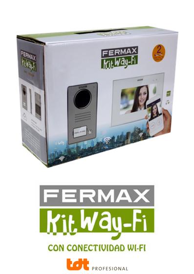 kit videoportero wi-fi de Fermax