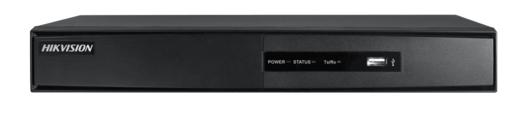 Grabador Hikvision Híbrido con 8 entradas analógica/digital + 2 entradas IP