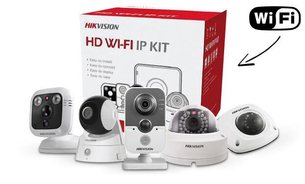 Cámaras CCTV IP con WiFi de Hikvision