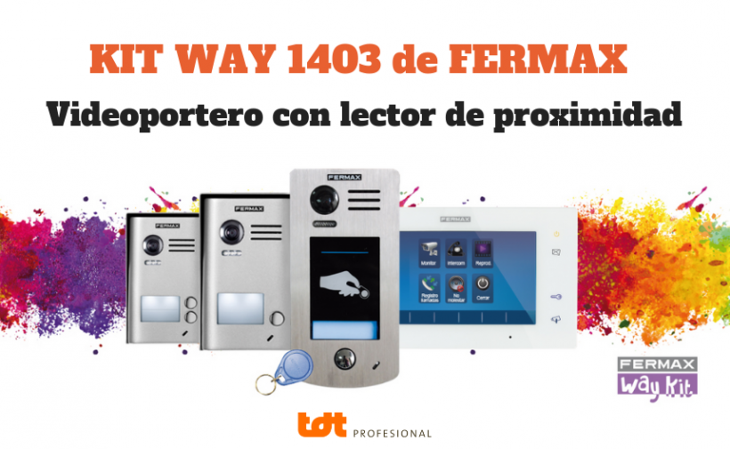Kit Way 1403 de Fermax