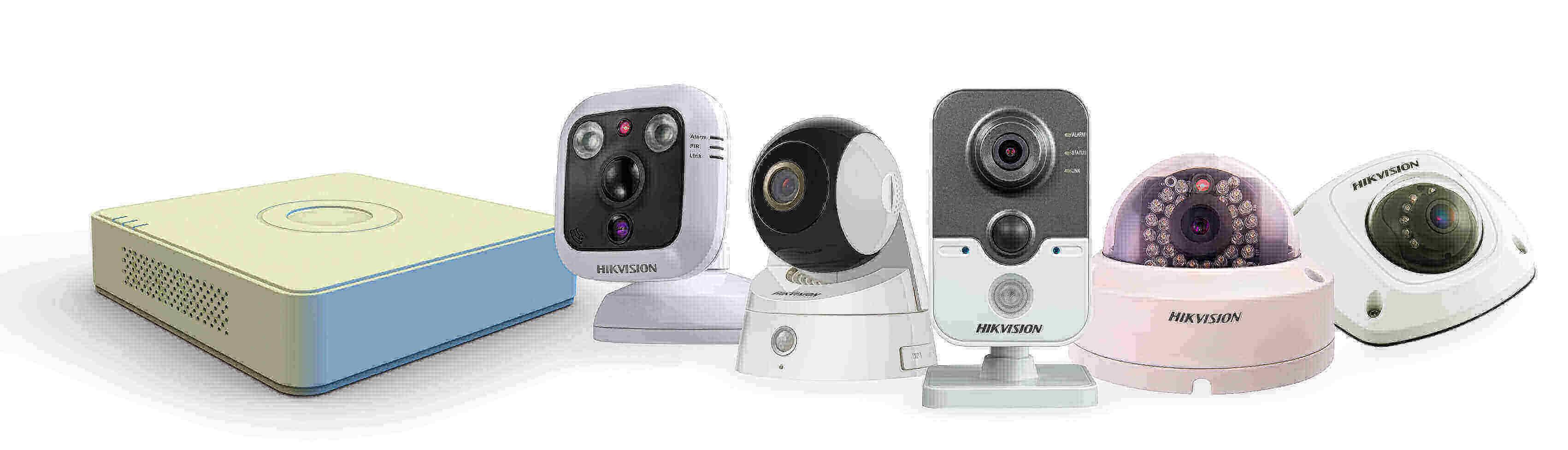 Cámaras y grabador IP de Hikvision