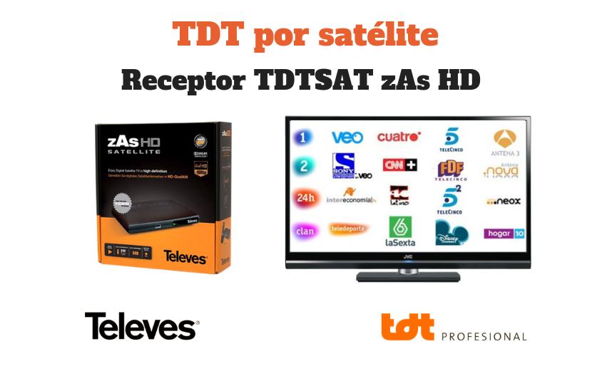 TDT por satélite. TDTprofesional