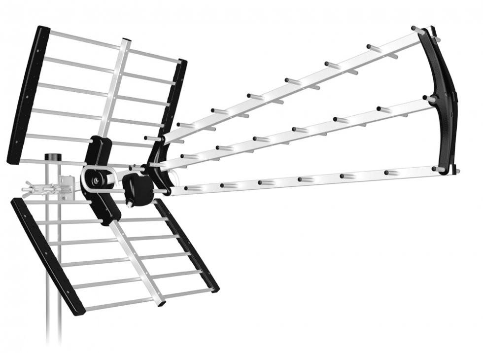 mejores antenas TDT. Antena TDT de alta ganancia BKM de Tecatel