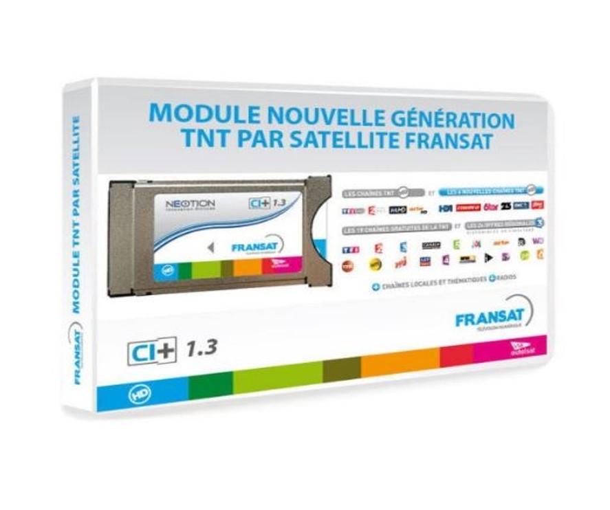Pack de lector de tarjetas PCMCIA + Tarjeta FRANSAT