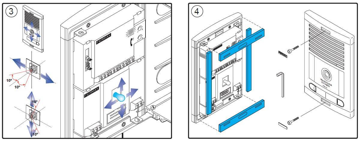 Manual para instalar un kit de videoportero de fermax - Instalacion de videoportero ...