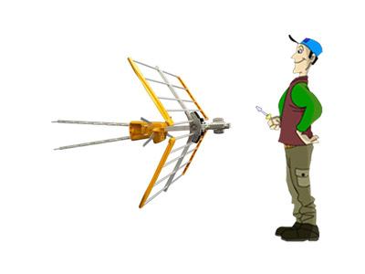 C mo instalar una antena tdt blog de telecomunicaciones - Precio antena tdt ...
