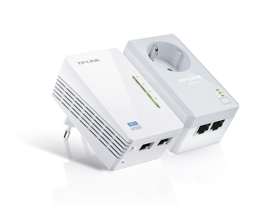 PLC POWERLINE WIFI DE 500 MBPS DE TPLINK
