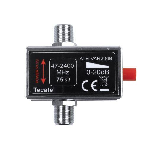 Atenuador Regulable Tecatel ATE-VAR20