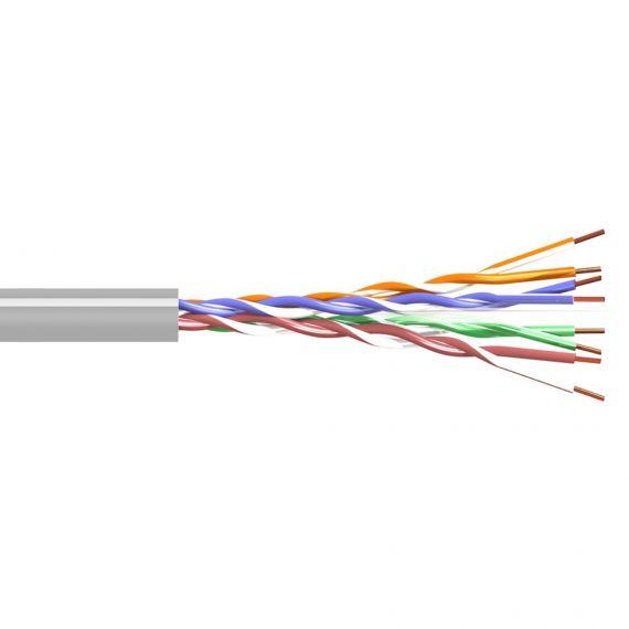 Cable UTP Cat6 Euroclass Dca LSZH Gray Tecatel CAB-UTP6LCUG