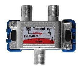 Derivador TDT-SAT 1 Salida F 20dB Tecatel DER-CLA1S20