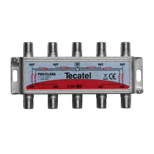 UAP Splitter 8 Outputs F 16dB Tecatel PAU-CLA8S