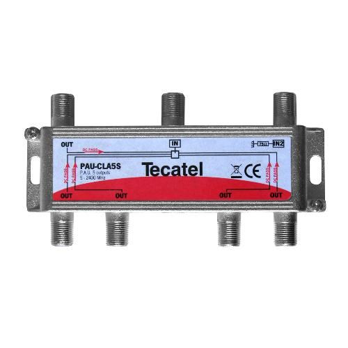 UAP Splitter 5 Outputs F 12.5dB Tecatel PAU-CLA5S