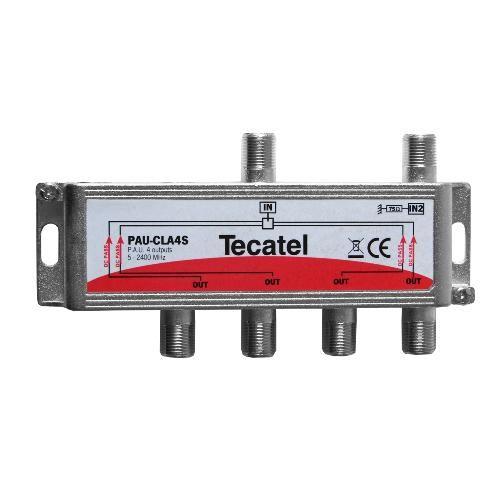 UAP Splitter 4 Outputs F 10dB Tecatel PAU-CLA4S