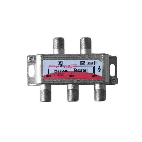 UAP Splitter 3 Outputs F 7.5dB Tecatel PAU-CLA3S